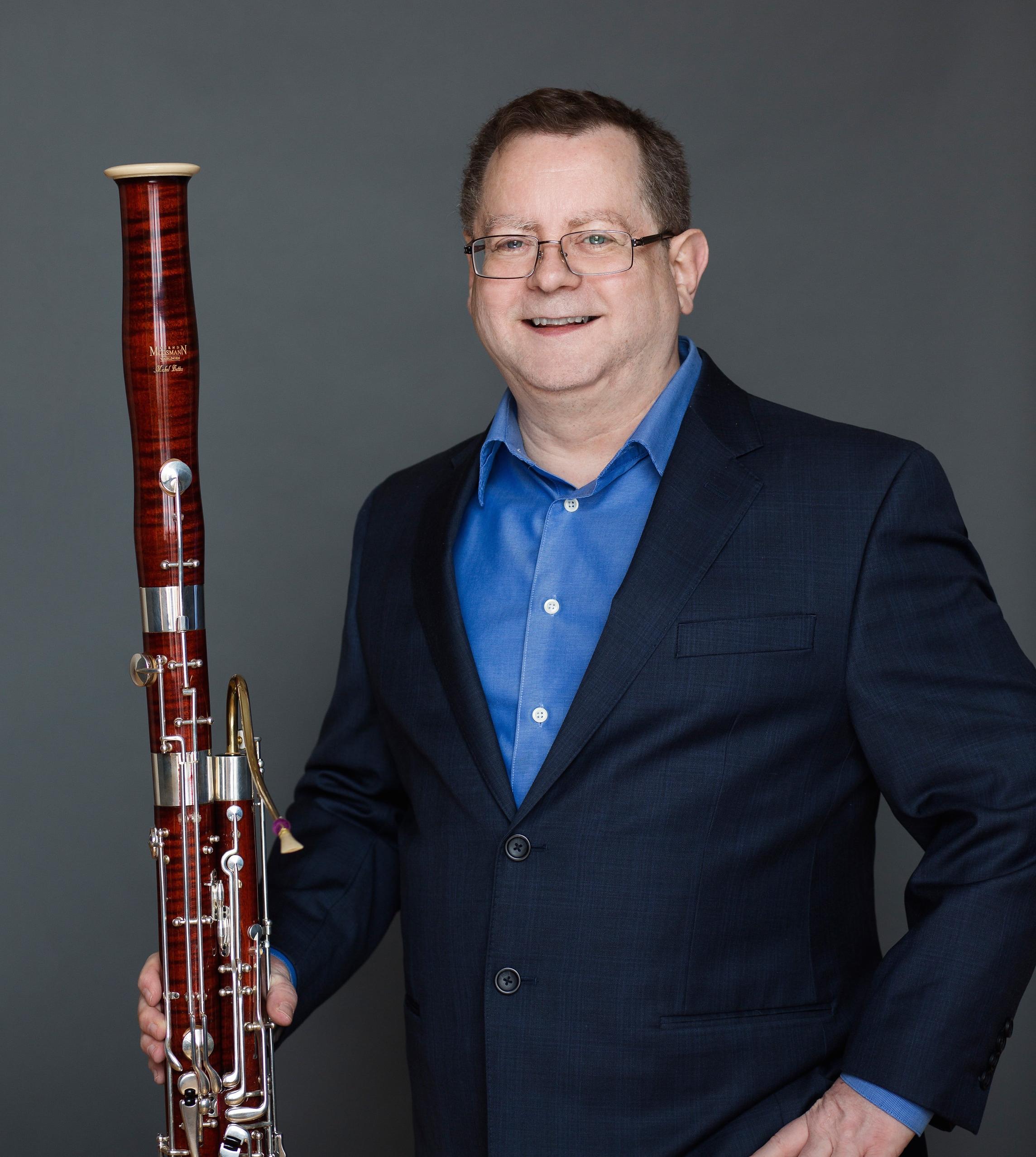 Michel Bettez bassoon 2017 - Künstler