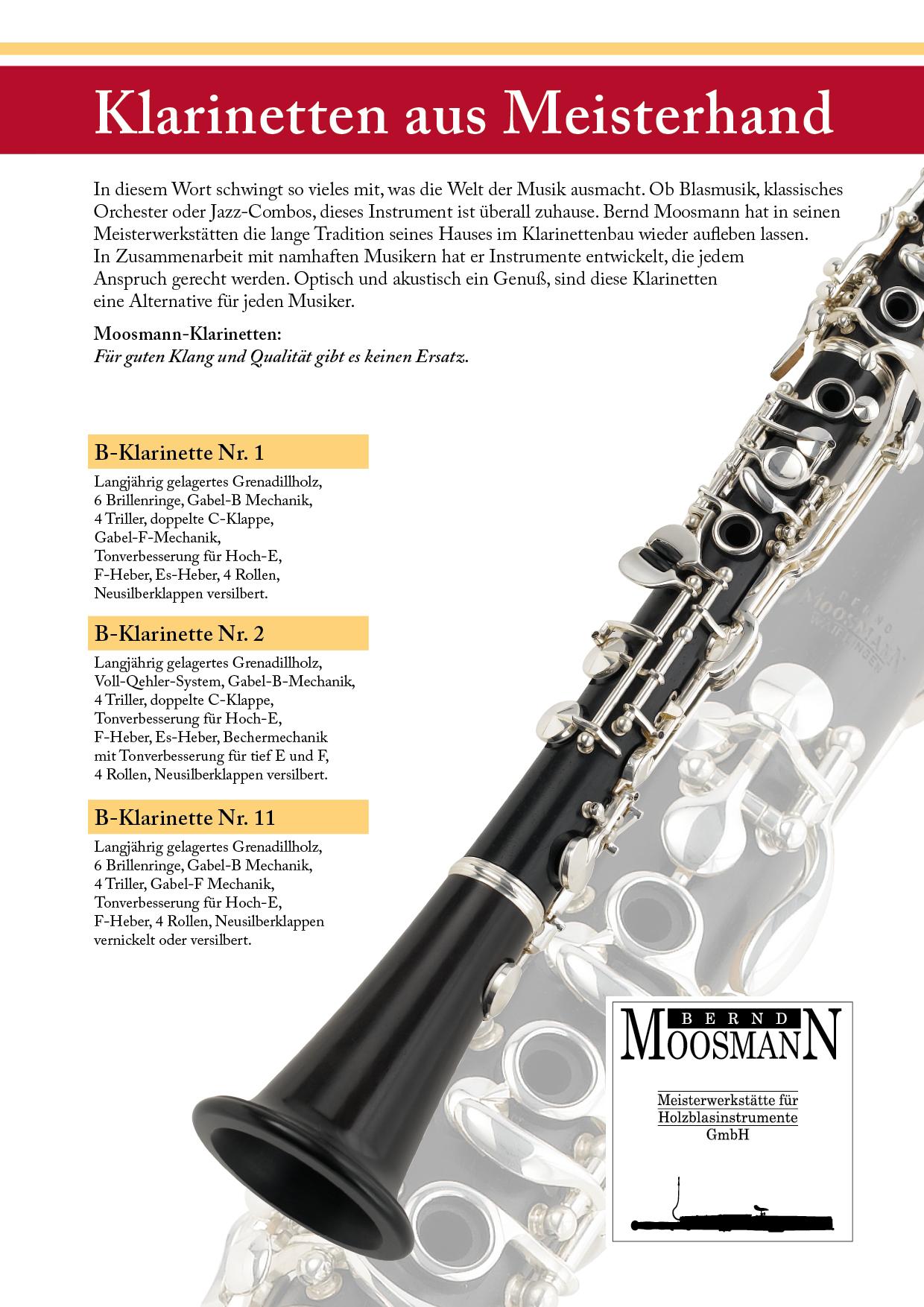 Preisliste Klarinette 2017 o Preis Titel - Instrumente